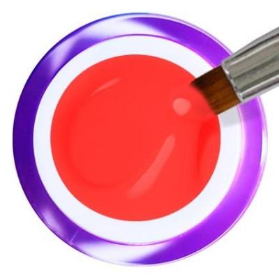 Gel Painting Nº 9 - Neon Red