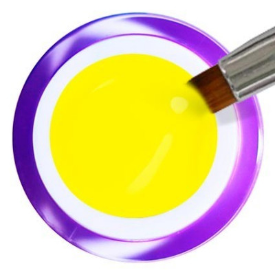 Gel Painting Nº 16 - Neon Yellow