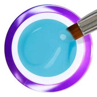 Gel Painting Nº 22 - Light Blue