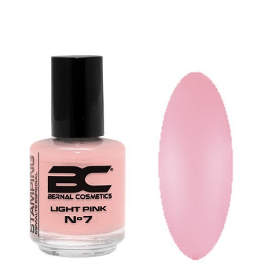 BC Stamping Lac Nº 07 - Light Pink