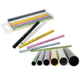 Tubos para curva de acrílico - 6 tubos