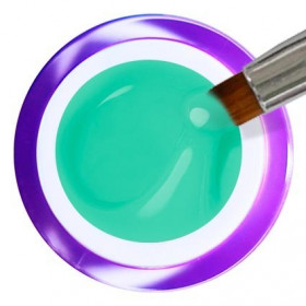 Gel Painting Nº 27 - Turquoise