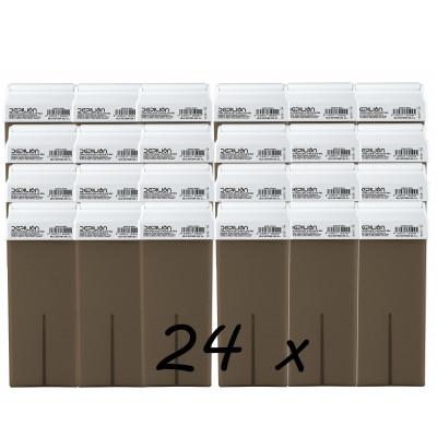 Pack 24 x Roll On Cera 100ml - Chocolate