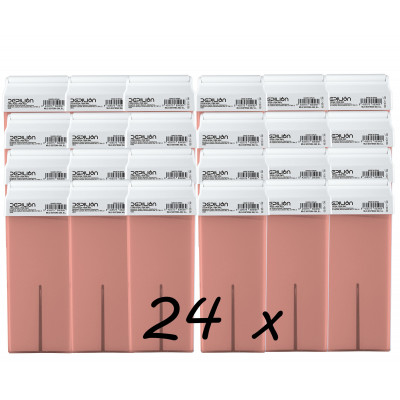 Pack 24 x Roll On Cera 100ml - Rosa