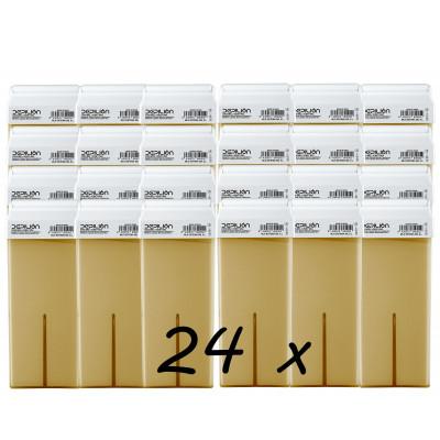 Pack 24 x Roll On Cera 100ml - Miel