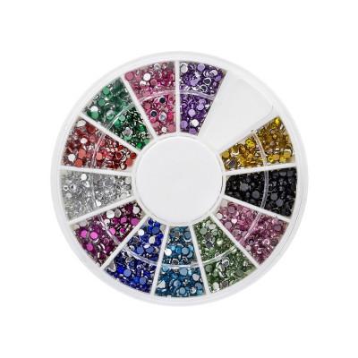Nail Art Piedrecitas Mix - Redondas