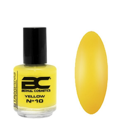 BC Stamping Lac Nº 10 - Yellow