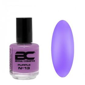 BC Stamping Lac Nº 13 - Purple