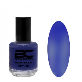 BC Stamping Lac Nº 19 - Neon Blue