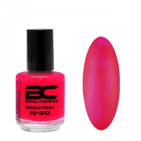 BC Stamping Lac Nº 20 - Neon Pink