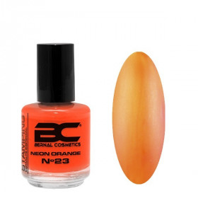 BC Stamping Lac Nº 23 - Neon Orange