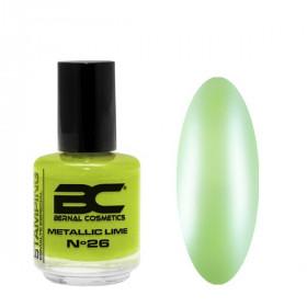 BC Stamping Lac Nº 26 - Metallic Lime