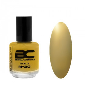 BC Stamping Lac Nº 30 - Gold