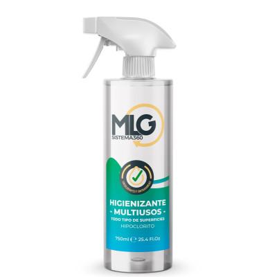 Higienizante Multiusos 100% sin Alcohol para Superficies - 750ml