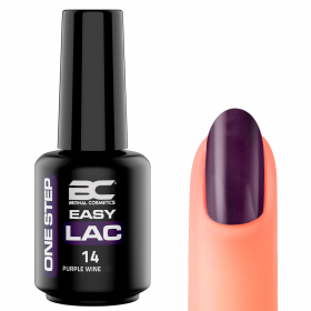 BC Easy Lac (Esmalte Permanente 4 en 1) Nº 14 - Purple Wine- 15ml - 15ml