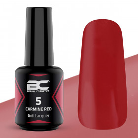 BC Gel Lacquer Nº 05 - Carmine Red - 15ml