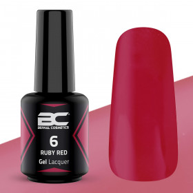 BC Gel Lacquer Nº 06 - Ruby Red - 15ml