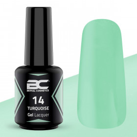 BC Gel Lacquer Nº 14 - Turquoise - 15ml