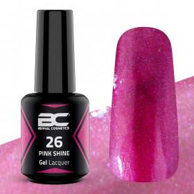 BC Gel Lacquer Nº 26 - Pink Shine - 15ml