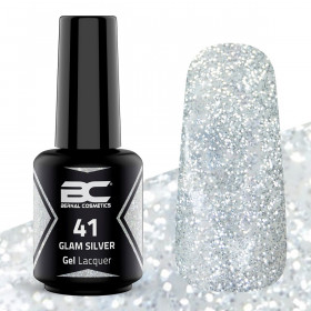 BC Gel Lacquer Nº 41 - Glam Silver- 15ml