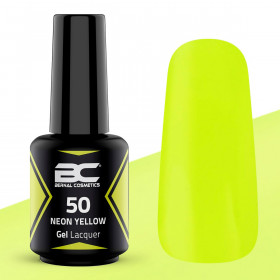 BC Gel Lacquer Nº 50 - Neon Yellow - 15ml