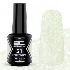 BC Gel Lacquer Nº 51 - Pearly White 15ml