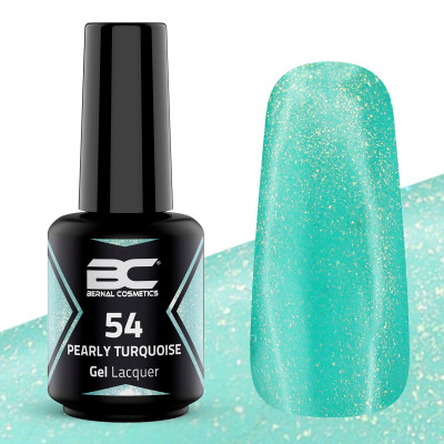 BC Gel Lacquer Nº 54 - Pearly Turquoise - 15ml