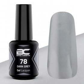 BC Gel Lacquer Nº78- Dark Grey - 15ml